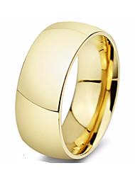 Ring Stahl Kreisform Kreis Gold Silber Schmuck Alltag 1 Stück