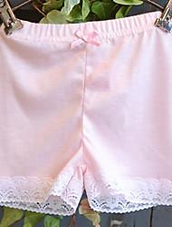 Sous-vêtements Fille Couleur Pleine-Coton-Toutes les Saisons Dentelle