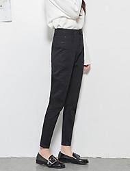 Signo de la cintura era delgado jeans pantalones cortos rábano