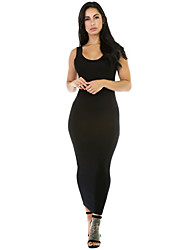Women's Stretchy Fit Long Sundress