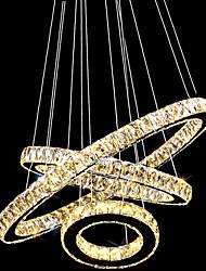 Lustre ,  Contemporain Traditionnel/Classique Rustique Tiffany Retro Rétro Plaqué Fonctionnalité for Cristal LED MétalSalle de séjour