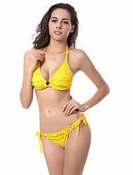 Women's Fashion Sexy Padded Nylon Spandex Bikinis