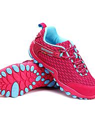 LEIBINDI Tênis Tênis de Caminhada Tênis de Corrida Mulheres Anti-Escorregar Anti-Shake Anti-desgaste Ao ar Livre Cano BaixoMalha