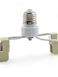Ceramic E27 to R7S E27-R7s LED Lamp Bases Socket for Floodlight / Spotlight 135mm  (1 Piece)