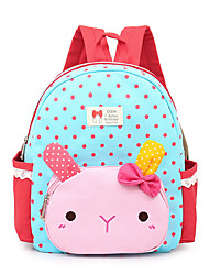 Kids Backpack Canvas All Seasons Casual Professioanl Use Bucket Zipper