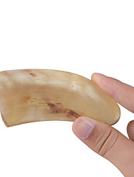 1Pcs Scrapping Plate Tradition Chinese Ox Horn Plate Massage Tool Facial Therapy Tool Health