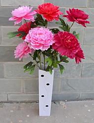 1 Филиал Пластик Пионы Букеты на пол Искусственные Цветы 30*30*120