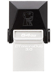 Kingston dtduo3 64gb usb 3.0 flash drive otg micro usb mini ultra-compacto