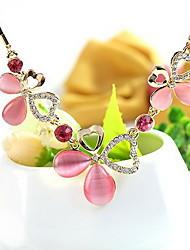 Femme Pendentif de collier Cristal Forme de Fleur A Fleurs Bijoux Pour Soirée