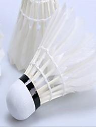 3 Stück Badminton Federbälle Langlebig Stabilität für Entenfeder