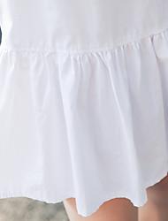 Sinal coreano série vestido camisa simples