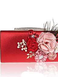 L.WEST Woman fashion flowers dinner evening bag
