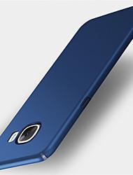 Для Матовое Кейс для Задняя крышка Кейс для Один цвет Твердый PC для Samsung A3 (2017) A5 (2017) A7 (2017)