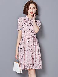 # Signe place 2017 femmes tempérament dames collier mince mis sur une grande robe en mousseline