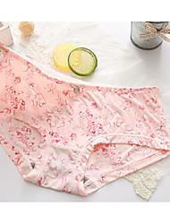 Rétro Fleur Sous-vêtements MoulantsRayonne