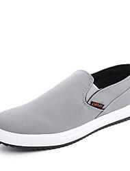 Sneakers Frühjahr Sommer Herbst Winter Komfort Stoff Büro&Karriere casual flache Ferse schwarz blau hellgrau zu Fuß