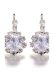 2017 Hot Crystal Rhinestone Flower Earrings Jewelry  Wedding Party Accessories for Women