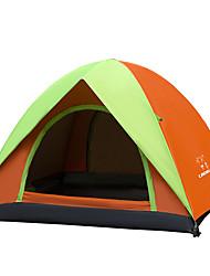 LINGNIU® 3-4 Pessoas Tenda Cabana de Praia Duplo Barraca de acampamento Manter Quente Bem Ventilado Portátil A Prova de Vento Resistente