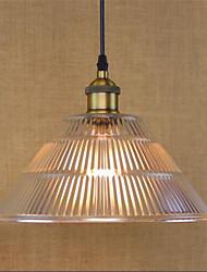 Simple Restaurant Bar bar American Country Industrial Glass Retro Restaurant Lamp Waterfall (Including 1 E26/E27 Bulbs)
