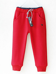 Boys' Casual/Daily Solid Pants Winter Spring Fall