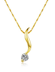 Xu Women's Fashion Diamond Pendant