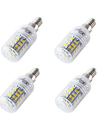 YouOKLight 4PCS E14/E27 4W 300-350lm AC/DC 12-24V 48xSMD2835 Cold White Light CRI80 LED Corn Bulbs Lamp