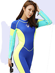 HISEA® Women's Wetsuits Thermal / Warm Neoprene Diving Suit Long Sleeve Diving Suits-Swimming Diving Surfing SailingSpring Fall/Autumn