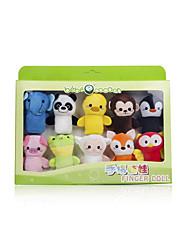 Мягкие игрушки Пальцевая кукла Животный принт