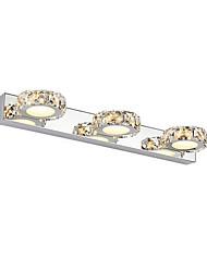 AC 100-240 9 LED Intégré Moderne/Contemporain Chrome Fonctionnalité for Cristal Ampoule incluse,Eclairage d'ambianceEclairage de Salle de