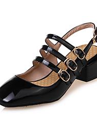 Для женщин Сандалии Удобная обувь Босоножки Светодиодные подошвы Дерматин Весна Лето Для праздника Для вечеринки / ужинаУдобная обувь