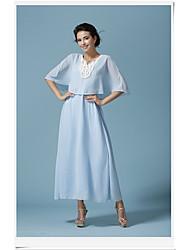 Новый летний дворец платок воротник платья кружевное платье тонкий долгий отпуск