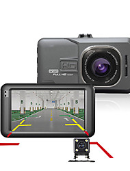 Car DVR Car Camera Dash Cam Dash Camera Video Recorder Dual Cameras 1080P Full HD 170 Degree angle G-sensor Auto Camcorder