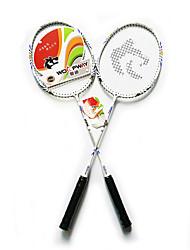 Raquetes para Badminton Pouco Atrito ao Vento Durabilidade Um Par para