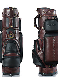 Golf Bag For Tees Durable Leather For Golf