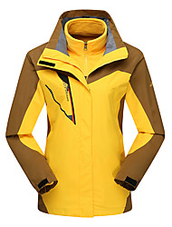 LEIBINDI®Men's Winter Jacket 3-in-1 Jackets Skiing Climbing Outdoor Sport Hiking Snowsports Waterproof Windproof Thermal / Warm Windproof