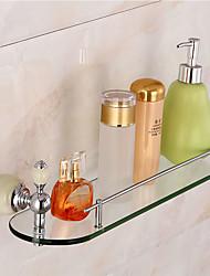 Set di accessori per il bagno / Ti-PVDOttone Vetro