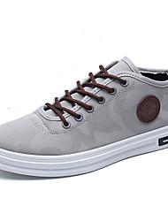 Men's Sneakers Spring Summer Comfort Light Soles Fabric Outdoor Casual Flat Heel Lace-up Walking Shoes