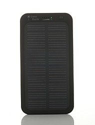 SUNWALK 5000mAh Ultra Slim Solar Charger Battery 5V Output Solar External Battery for Cell Phone