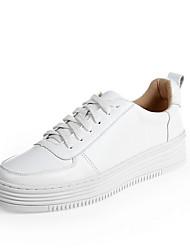 Damen-Loafers & Slip-Ons-Outddor Lässig-PULeuchtende Sohlen-Weiß