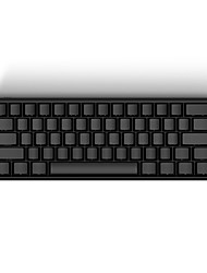 iQunix® IQKB 62-Key 60% Wired Mechanical Keyboard with Type-C USB Port Aluminum Alloy Shell Optional Cherry MX Types