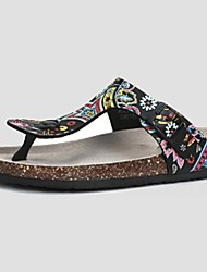 Camel Women's Outdoor Flip Flops Summer Comfort Casual Fashion Sandals  Color White/Black