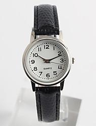 Fashion Watch Quartz / PU Band Casual Black Brand