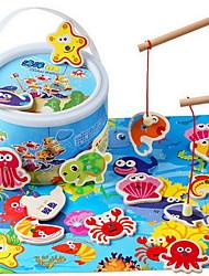 Blocos de Construir Brinquedo Educativo para presente Blocos de Construir Peixes 5 a 7 Anos Brinquedos