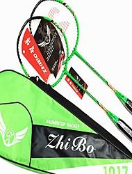 Raquetes para Badminton Durabilidade Estabilidade Ligas de Ferro Um Par × 2 para Ao ar Livre Espetáculo Praticar Esportes de Lazer