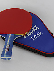 3 Stars Table Tennis Rackets Ping Pang Wood Pimples Indoor Performance-Other