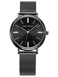 Women's Fashion Watch Wrist watch Quartz Stainless Steel Band Black Silver Gold Rose Gold Strap Watch