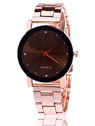 Mujer Reloj de Vestir Reloj de Moda Reloj de Pulsera Reloj creativo único Reloj Casual Chino Cuarzo Aleación Banda Encanto Casual