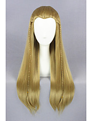Medium Straight The Lord of the Rings-Legolas Light Brown 26inch Cosplay WigCS196A