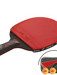 Table Tennis Rackets Table Tennis Ball Ping Pang Nanometer Materials Long Handle Pimples 1 Racket 3 Table Tennis Balls 1 Table Tennis Bag