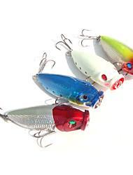 5 Stück Harte Fischköder Zufällige Farben 9 g Unze mm Zoll,Metall Angeln Allgemein